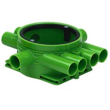 Ed-Wa 1426035-2 Kopplingsdosa grön, enkelgips