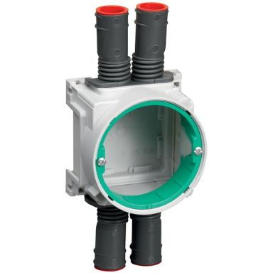 Schneider 4014213011 Apparatdosa för enkel- eller dubbelgips