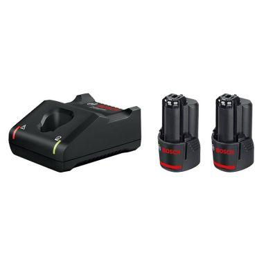 Bosch GAL 12V-40 + 2st 12V 3.0Ah Laddpaket