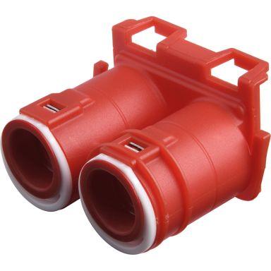Elko 1420320 Dubbelstuts för apparatdosor