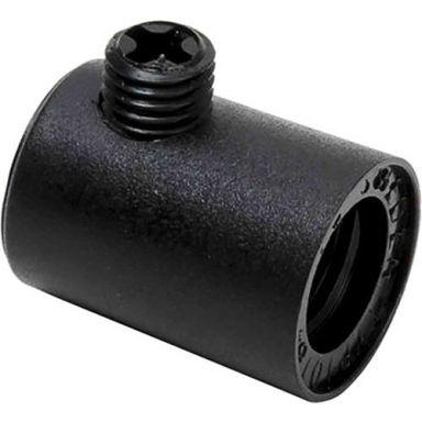 Gelia 100000919 Dragavlastare inv. gänga M10, svart