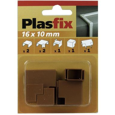 Plasfix 3420-9G Skjøte- og hjørnebiter til Plasfix, 16 x 10 mm