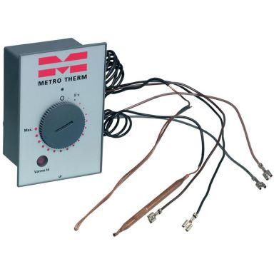 Metro Therm 1754609999 Termostatbox med övertempsäkring och lampa