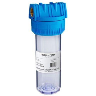 Beulco Blå Björn Filterbehållare dubbel, med nyckel