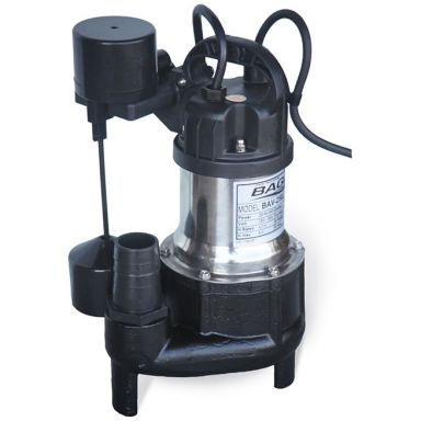 BAGA BAV250J Gråvattenpump med friliggande flottör