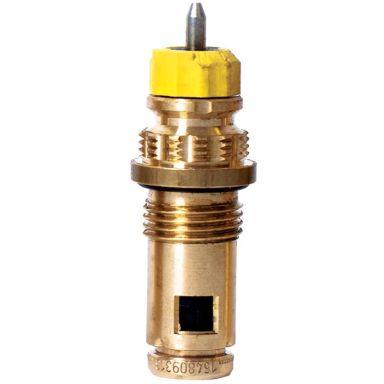 Purmo 6733722 Ventilinsats gul, för Danfoss termostat