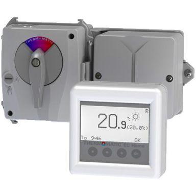 Termoventiler Termomatic EC Home Villareglering med rumsgivare