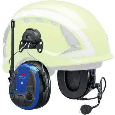 3M Peltor WS Alert XPI Hörselskydd Bluetooth & mobilapplikation, hjälmfäste