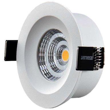 Designlight Q-3MW Downlight med drivdon, 3000 K, fast