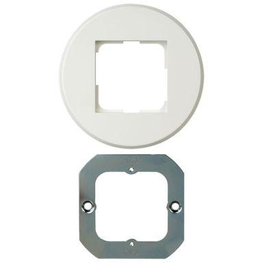 Elko EKO05378 Kombinationsram rund, för vägg/takdosa