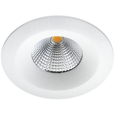 SG Armaturen Uniled Isosafe Downlight matt vit, 3000 K
