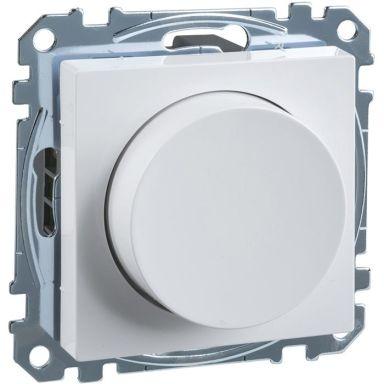 Schneider Exxact WDE002299 Dimmer LED, 4-400 W, vit