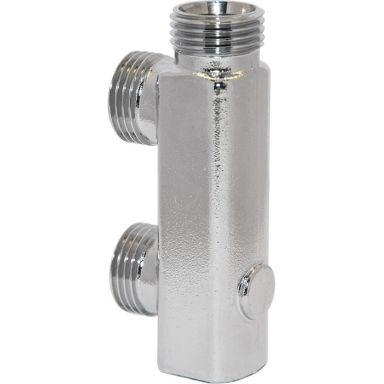 Vatette 1876981 Badrumsfördelare c/c 40 mm, för väggkopplingssystem