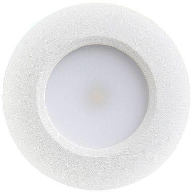 Designlight Q-30MW Downlight 3 W, vit, 2700 K