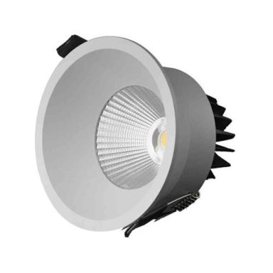 Designlight P-196MW Downlight 11 W, vit, 3000 K
