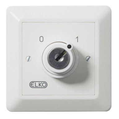 Elko EKO05529 Nyckelbrytare 2-pol, med lås och nycklar