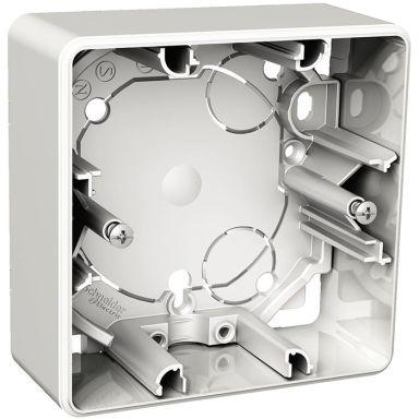 Schneider Exxact WDE002361 Förhöjningsdosa utanpåliggande, 35 mm djup