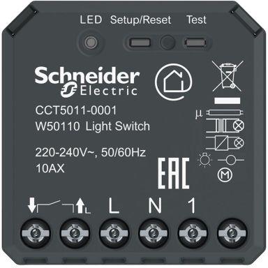 Schneider Exxact Wiser Puckströmställare med Bluetooth