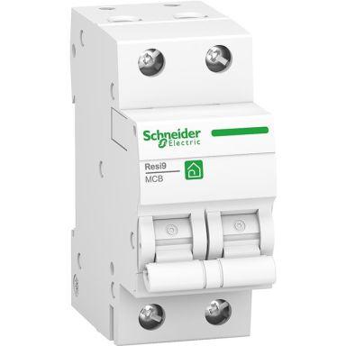 Schneider Resi9 Dvärgbrytare 2-pol