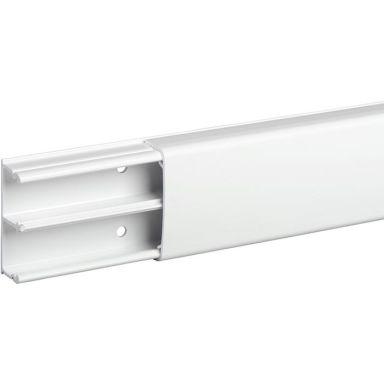 Schneider Optiline 1845 Minikanal PVC, 18 x 45 mm, vit