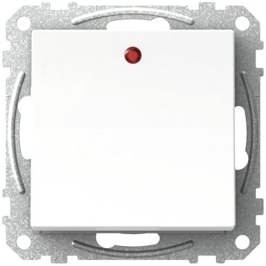 Schneider Exxact WDE002146 Vipptryckknapp trapp 1-pol, med LED