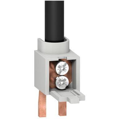 Schneider R9XFC04 Anslutningsklämma för Resi9 fasskena