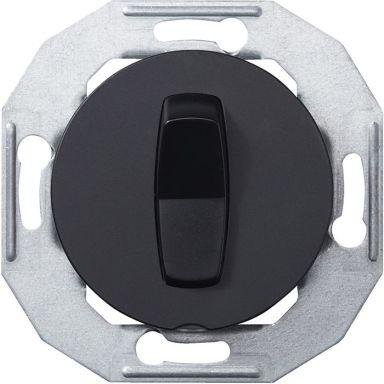 Schneider Renova WDE011221 Vippströmställare utan ram, svart