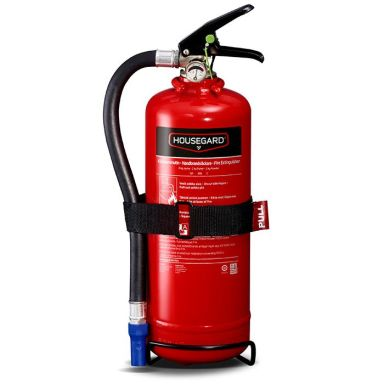 Housegard PE2TGH Brandsläckare pulver, 2 kg, röd