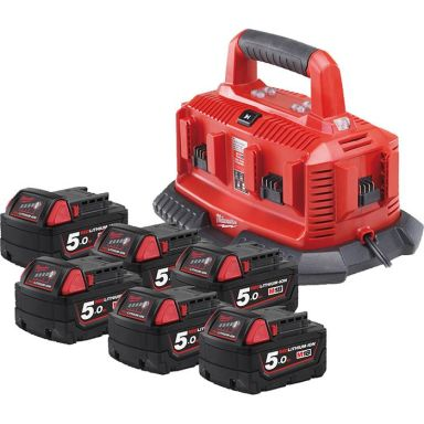 Milwaukee M18 NRG-506 Laddpaket
