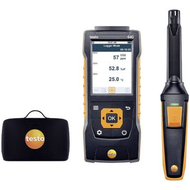 Testo 05634405 CO2-mätset med Bluetooth