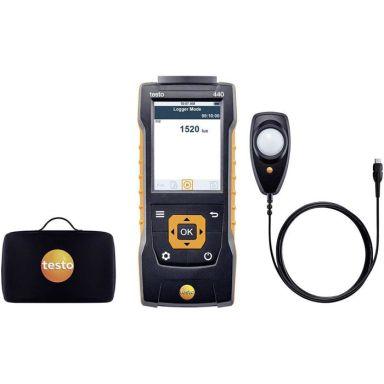 Testo 440 Lux-mätset för ljusmäting