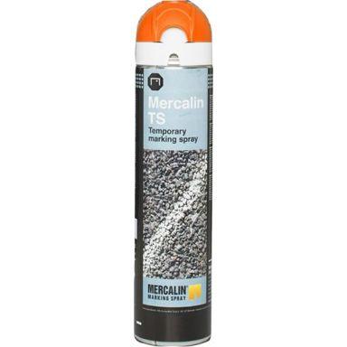 Mercalin TS Märkfärg temporär, 600 ml, orange