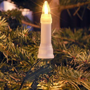 Konstsmide 1014-020 Julgransbelysning 25 st, DC LED, utomhusbruk