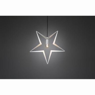 Konstsmide 2579-217 Julstjärna metall, hängande