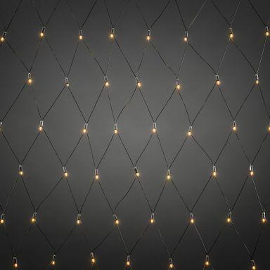 Konstsmide 4940-817 Ljusnät startset svart, 104 ljuspunkter