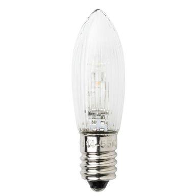 Konstsmide 5042-130 Reservlampa E10, 3-pack