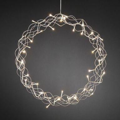 Konstsmide 2891-303 Krans metall, 45 st LED