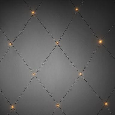 Konstsmide 3757-800 Ljusnät 96 ljuspunkter, 3x3 m