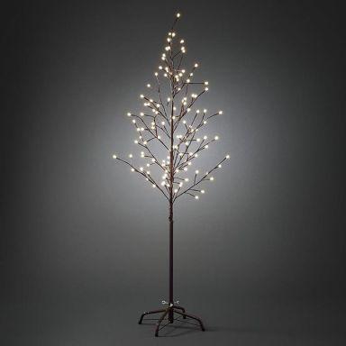Konstsmide 3378-600 Dekorationsbeslysning brun, 150 cm, 120 st LED
