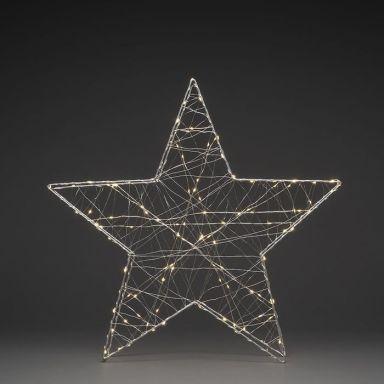 Konstsmide 1793-333 Julstjärna metall, 60 cm