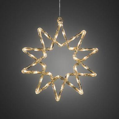 Konstsmide 4482-103 Julstjärna 38 cm