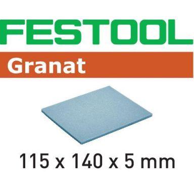 Festool EF GR Slipsvamp 115x140x5mm, 20-pack