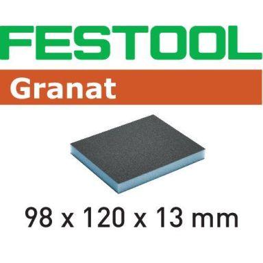 Festool GR Slipsvamp 98x120x13mm, 6-pack