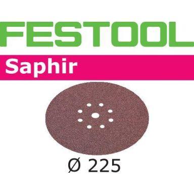 Festool STF SA Hiomapaperi 225mm, 8-reikäinen, 25 kpl
