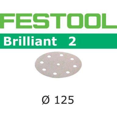 Festool STF BR2 Hiomapaperi 125 mm, 8-reikäinen, 10 kpl