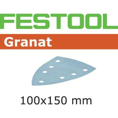 Festool STF GR DELTA Slippapper 7-hålat, 100-pack