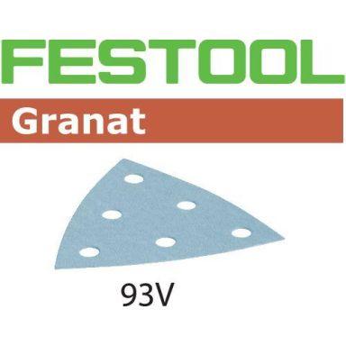 Festool STF GR Slippapper V93, 6-hålat, 50-pack