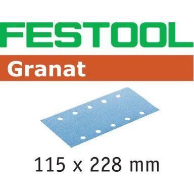 Festool STF GR Slippapper 115x228mm, 50-pack