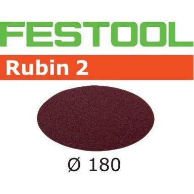 Festool STF RU2 Slippapper 180mm, 50-pack