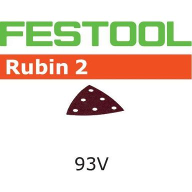 Festool STF RU2 Slippapper V93, 6-hålat, 50-pack